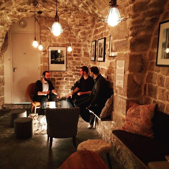 Paris, France  Pub Pub Corse Alamain Soirée Entreamis