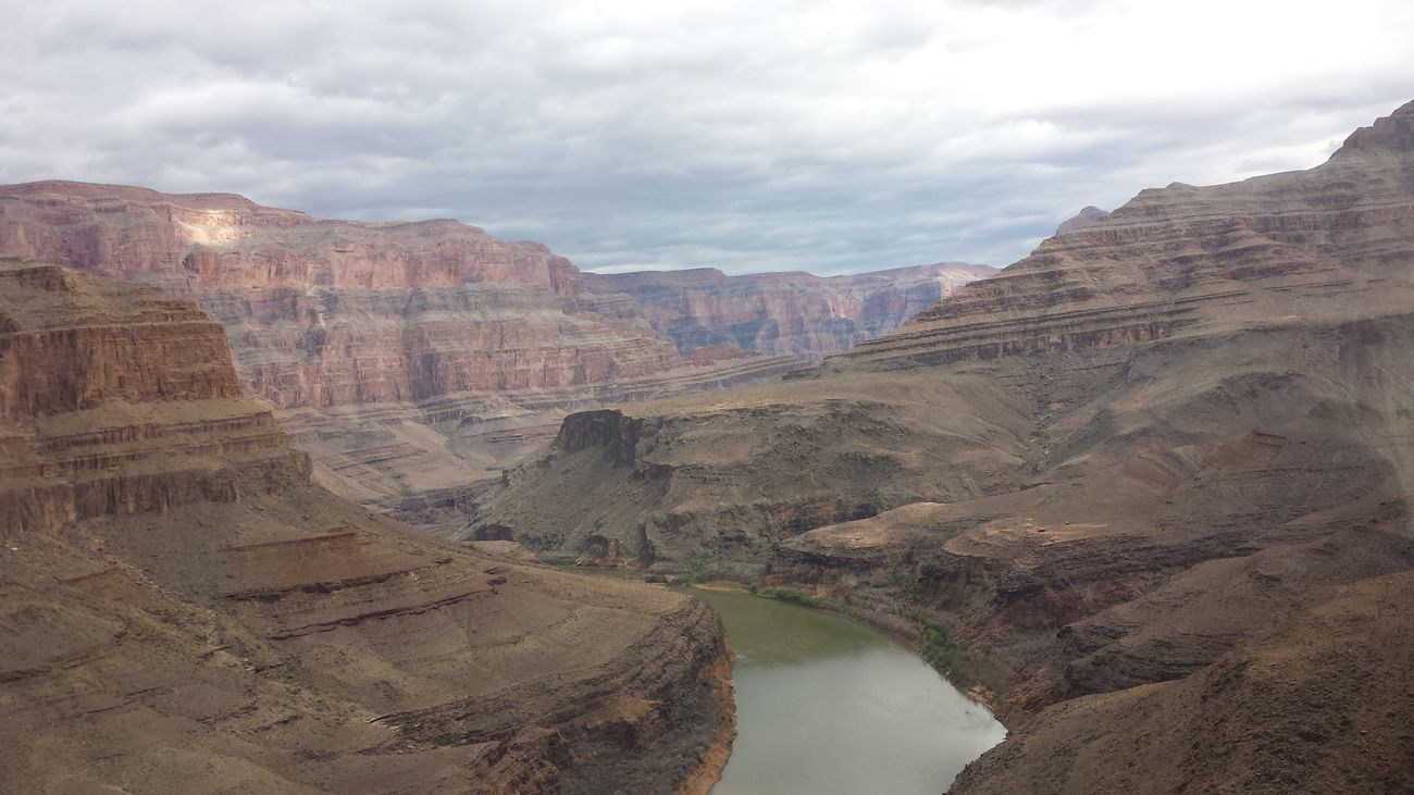 Just one of the many incredible views from the helicopter ride. Grandcanyonwest
