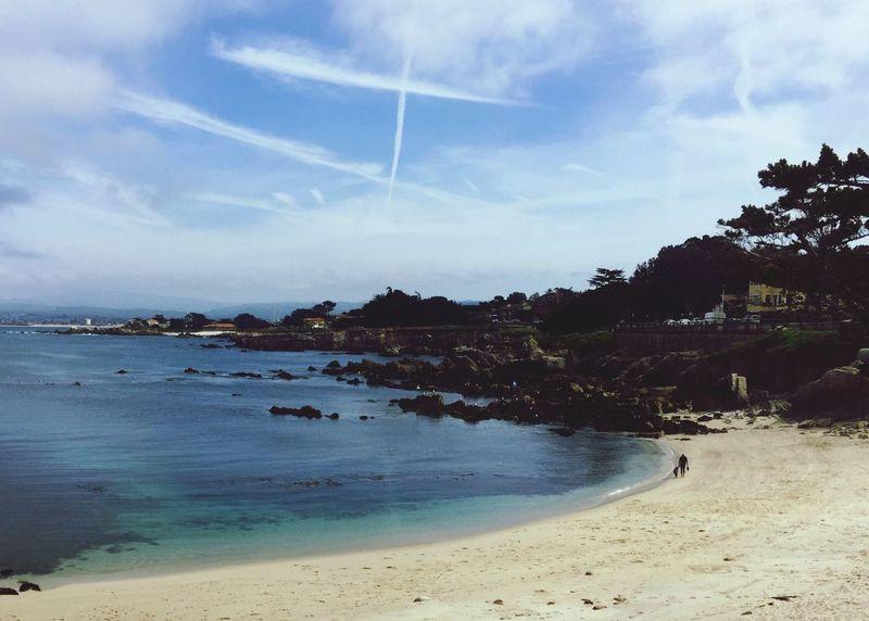 Lovers Point Solitude Peaceful Place Peaceful California Coast