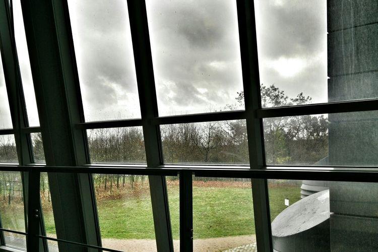 Architecture Autumn Rain Window Clouds Snapseed
