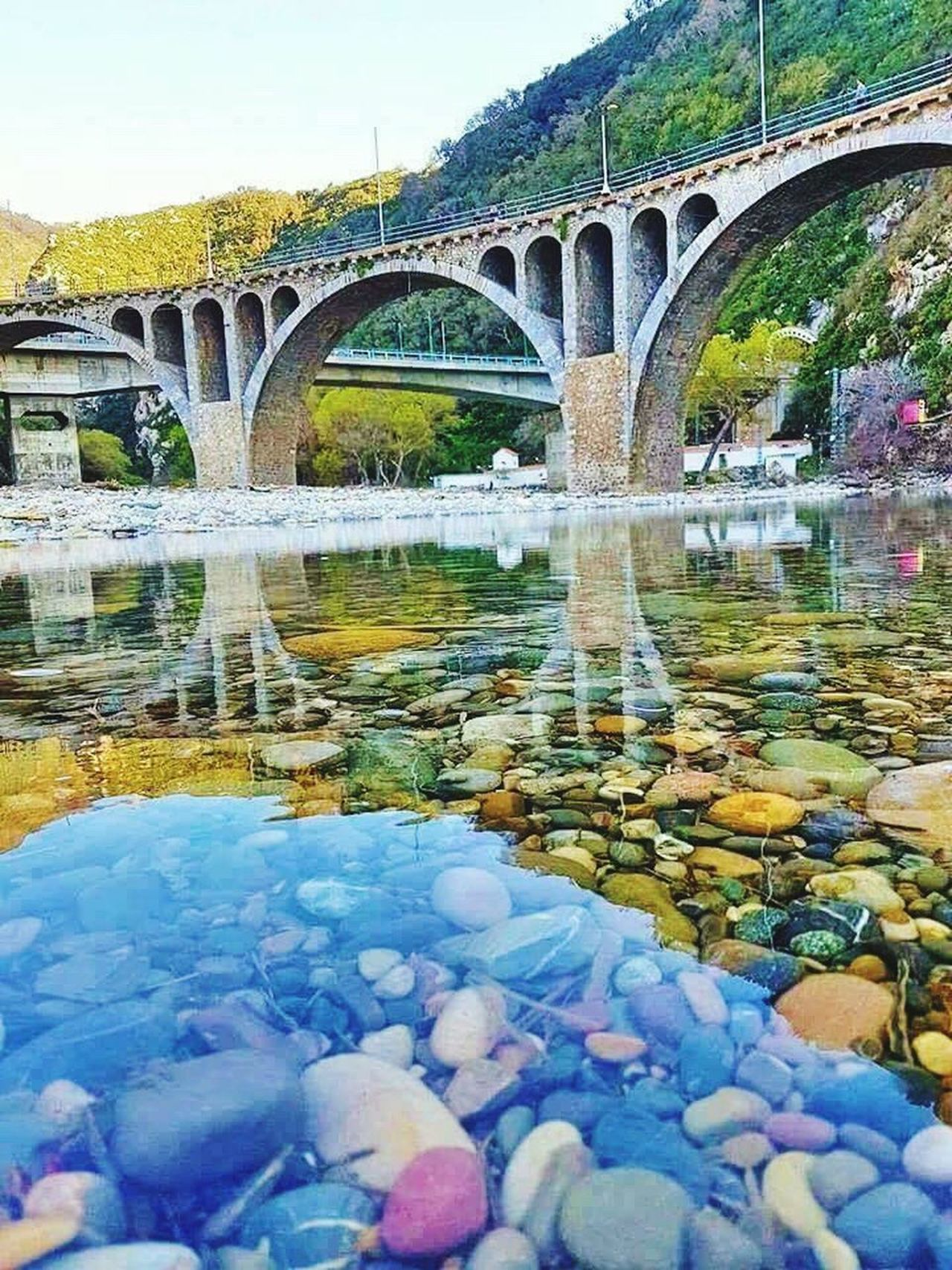 Jijel-Algerie Bridge - Man Made Structure Arch Water Arch Bridge Connection Reflection Architecture Built Structure River Outdoors Day No People Nature Jijel Jijel Algérie Jijel Algeria. Swimming Algérie Beachphotography Algeria Photography Relaxation Vacations EyeEm Algeria Beauty In Nature