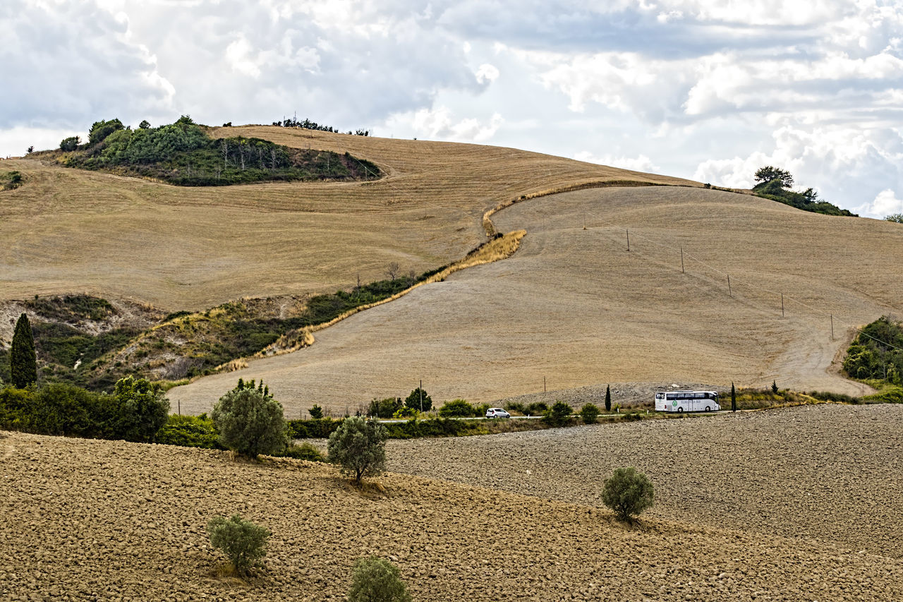 Agriculture Beauty In Nature Beauty In Nature Cloud - Sky Day Field Landscape Mountain Nature No People Outdoors Plowed Field Scenics Tranquil Scene Travel Destinations Tuscany Tuscany Countryside Tuscany Italy Tuscany Landscape