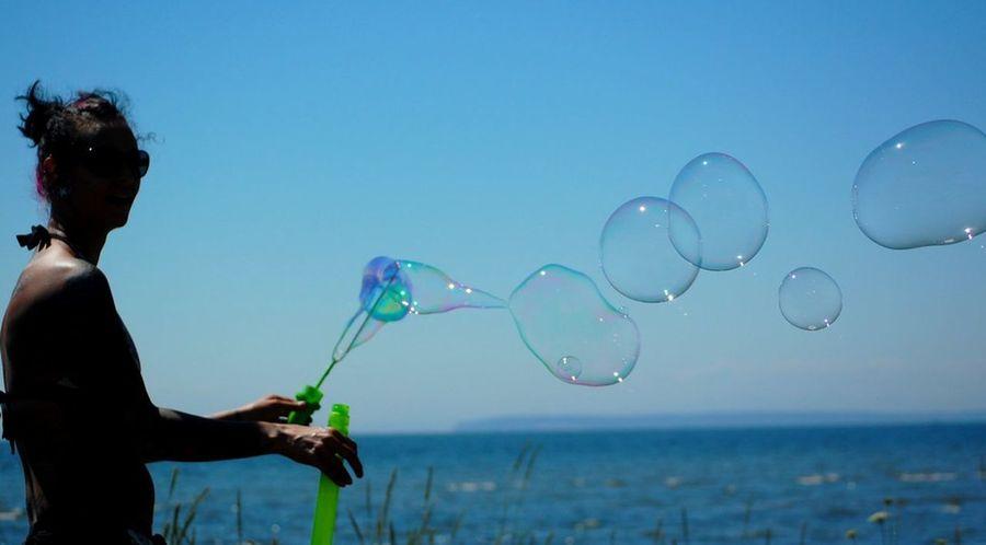 bubbles Enjoying Life beach fun Hanging Out