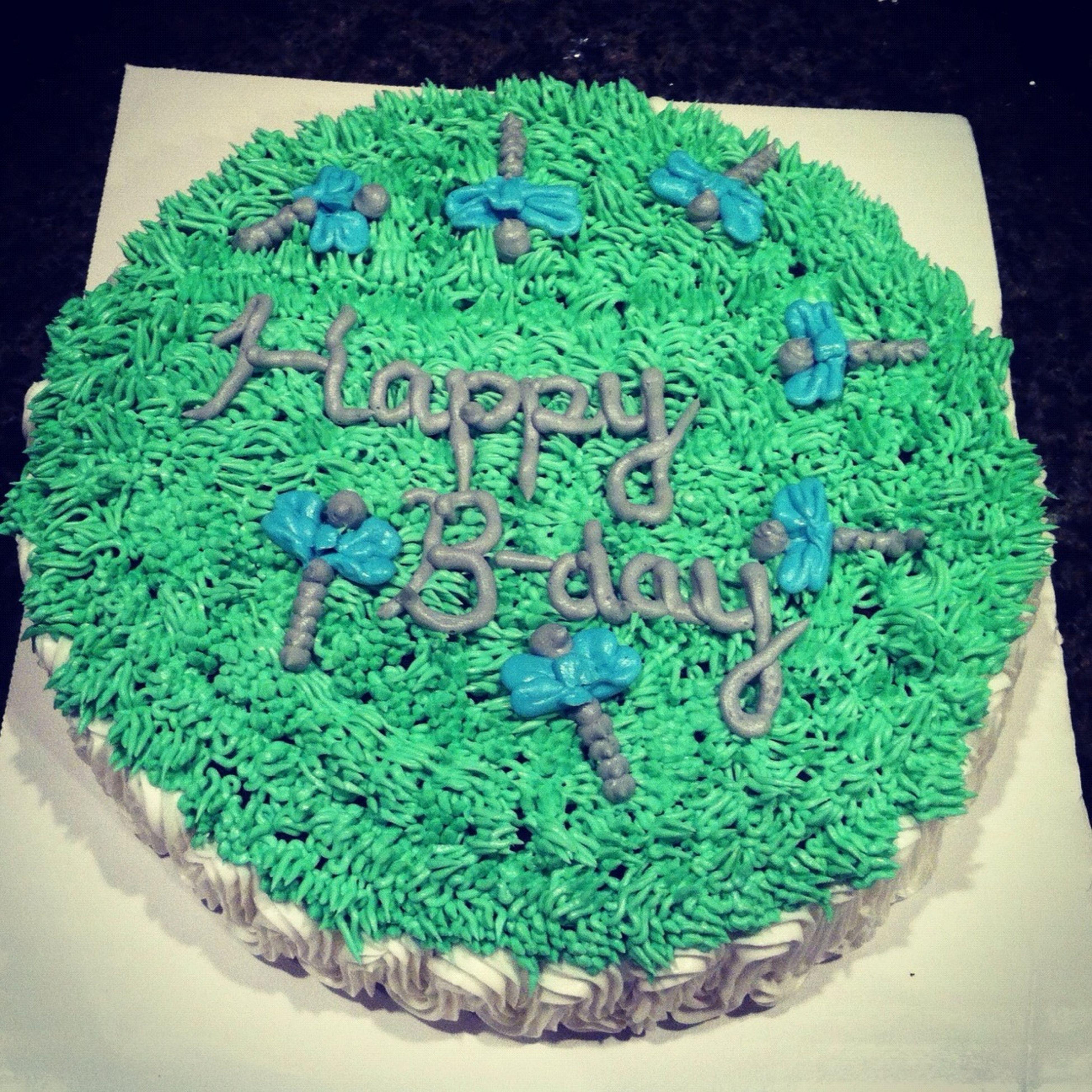 Dragonfly cake ($35)