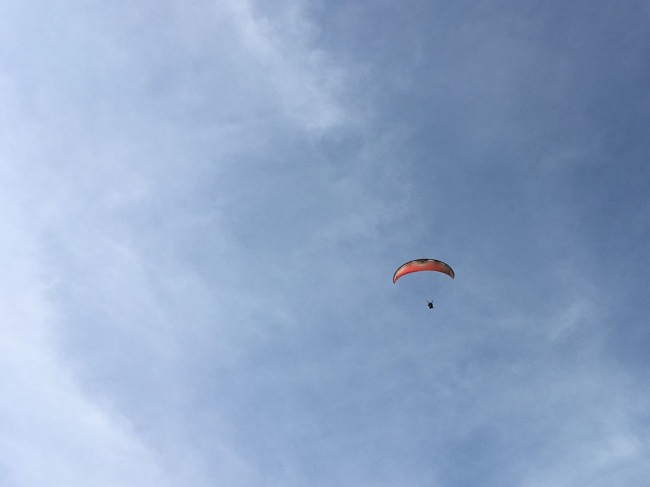 Enjoy The New Normal Paraplane Flying Up To The Sky Sky Man Blue Sky Extrime