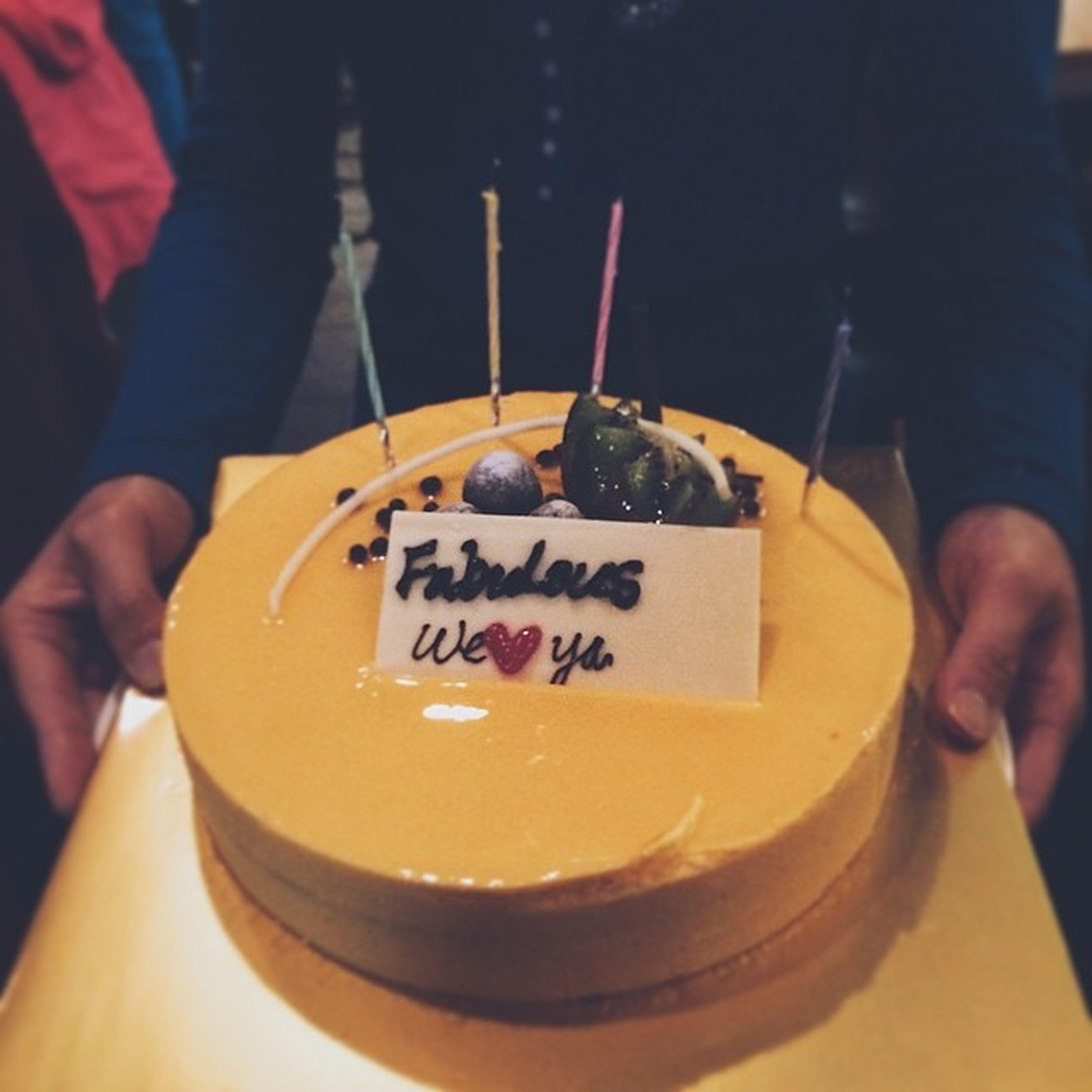 Fabulous mango mousse birthday cake. Tasteslikesex
