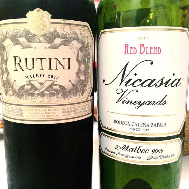 Malbec Malbec Argentino Vino Red Wine Asado