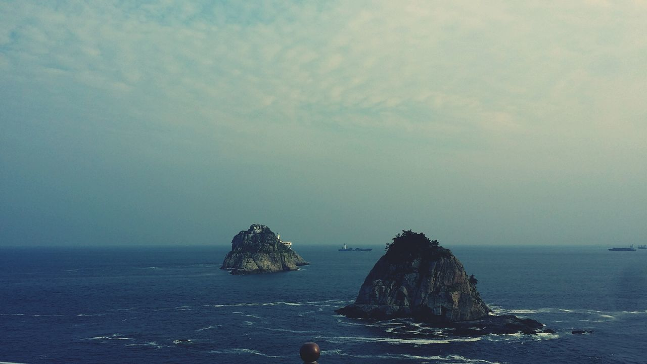 Oryukdo Island In Busan See The Sea