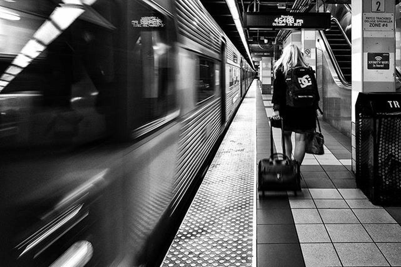 Departure Underground Subway Train Trainplatform Patco Philadelphia Philly Igers_philly Peopledelphia Phillyprimeshots Citylife Liphillyfe Blackandwhite Bnw_igers Bnw_life Bnw_captures Bnw_society Bnw_planet Bnw_magazine Bnw_madrid Bnw Bw_philly Bw Rustlord_bnw Rsa_bnw