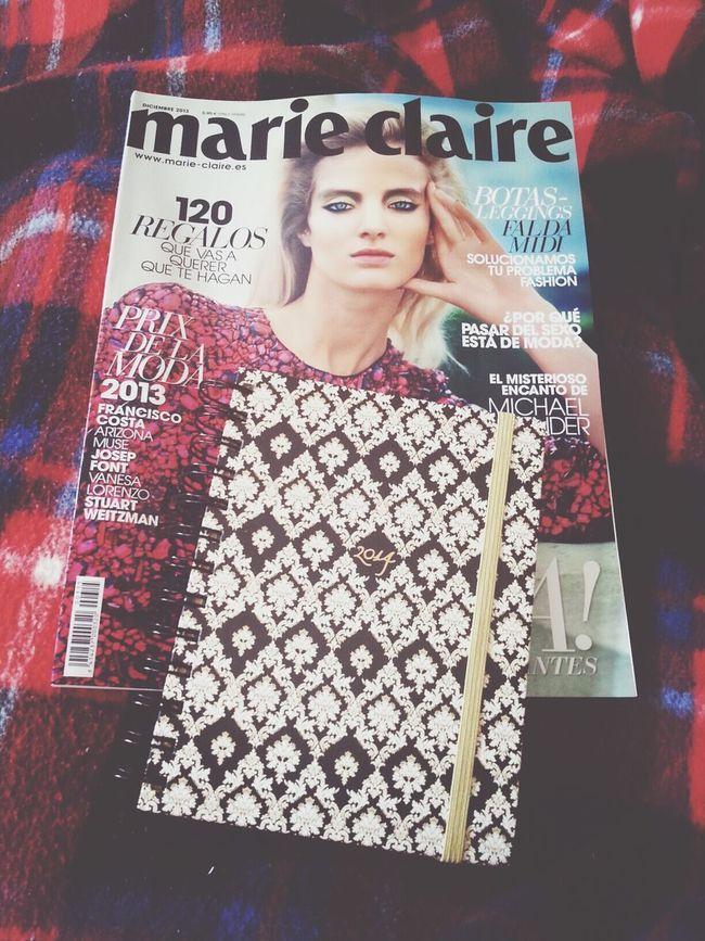 My favorite magazine. MarieClaire Agenda 2014 Fashion
