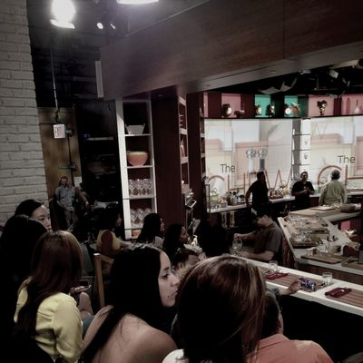 at the taping of The Chew ABC studios NYC. TheChew ABC