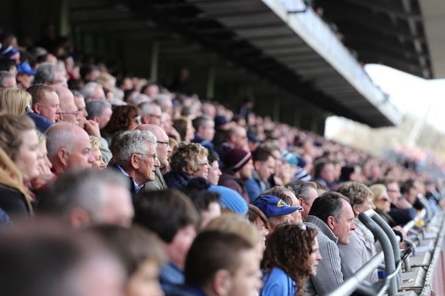 Captured by the game Gaa CrokePark Irelandinspires Irishsports Spectator Stadium