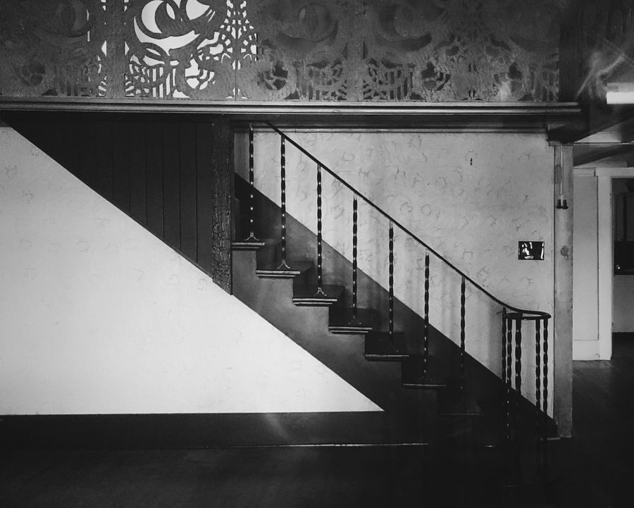 Steps And Staircases Staircase Railing Steps Architecture No People Bnw Blackandwhite Monochrome