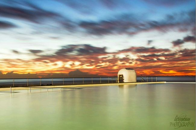 Australia Coastalimage Beach Sunrise Merewether Longexposure Long Exposure