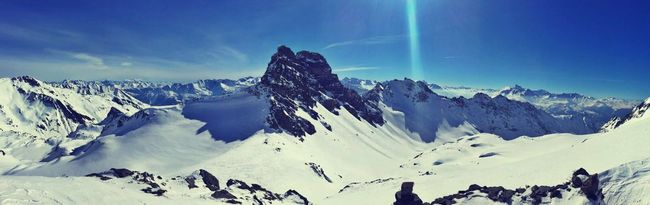 Alpine Mountains Snow ❄ Cold Panaramic