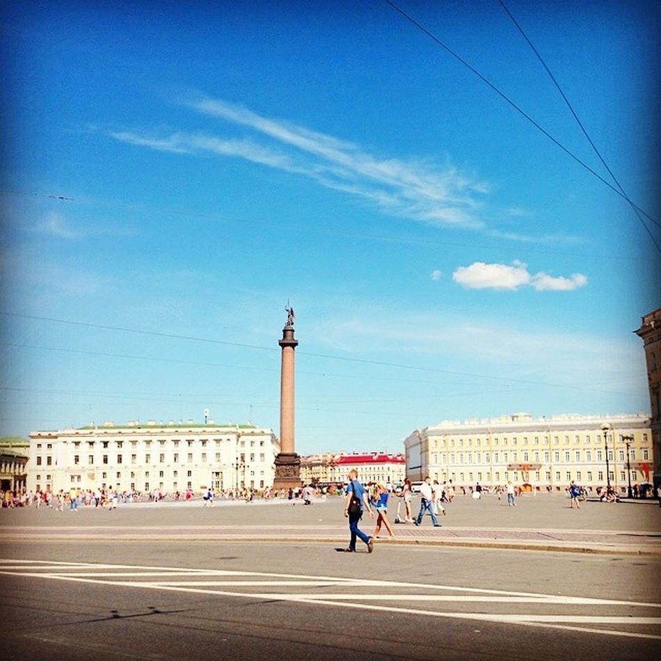 дворцоваяплощадь Санкт -Петербурглето2014