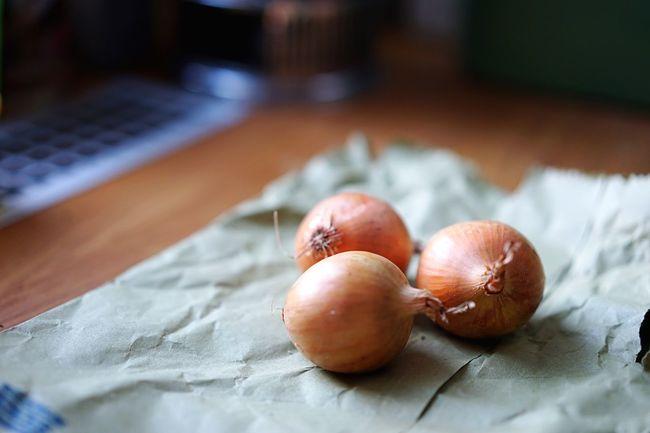 Fresh Produce Onions Vegetables Groceries Brown Paper Bag Healthy Vegan Vegetarian Vitamins