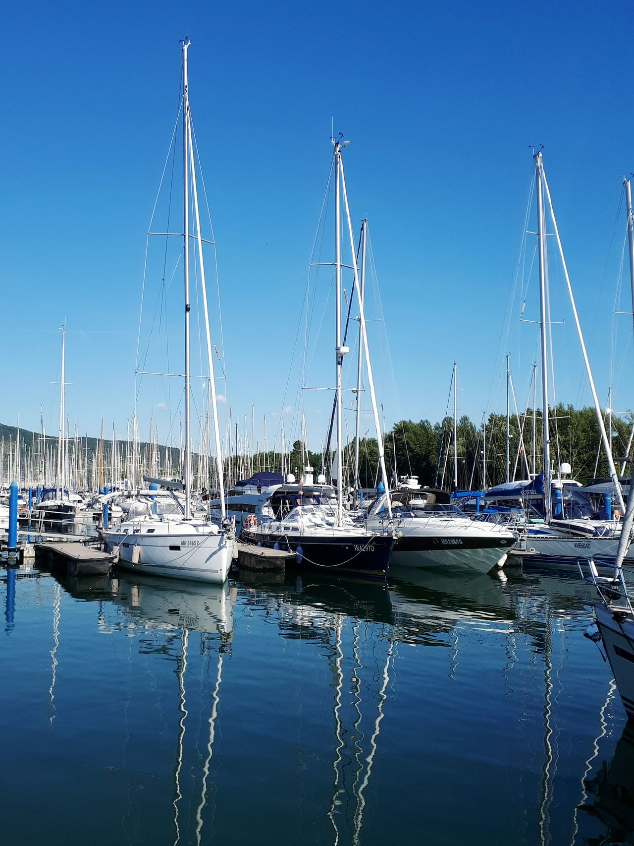 Nautical Vessel Water Harbor Sailboat Sky No People Mode Of Transport Reflection Transportation Marina Scenics Day Tranquility Outdoors Sea Water Reflections Nautic Club Pier
