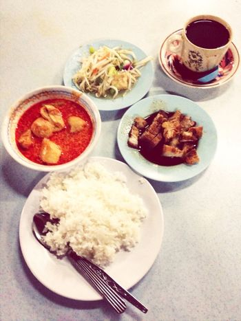 Breakfast like a boss. @@!! Malaysian Food