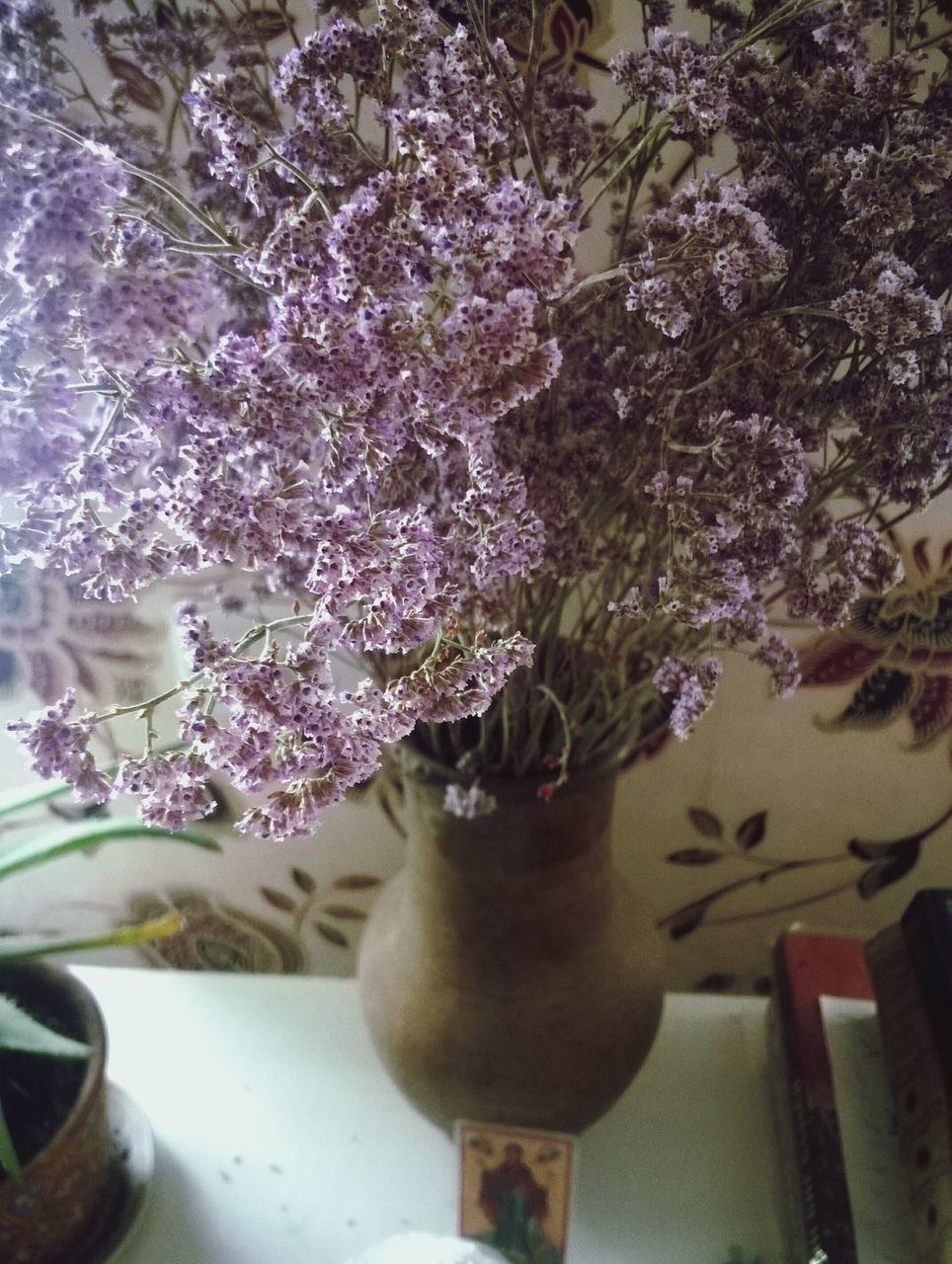 flower, vase, growth, indoors, no people, close-up, plant, fragility, day, tree, freshness, nature