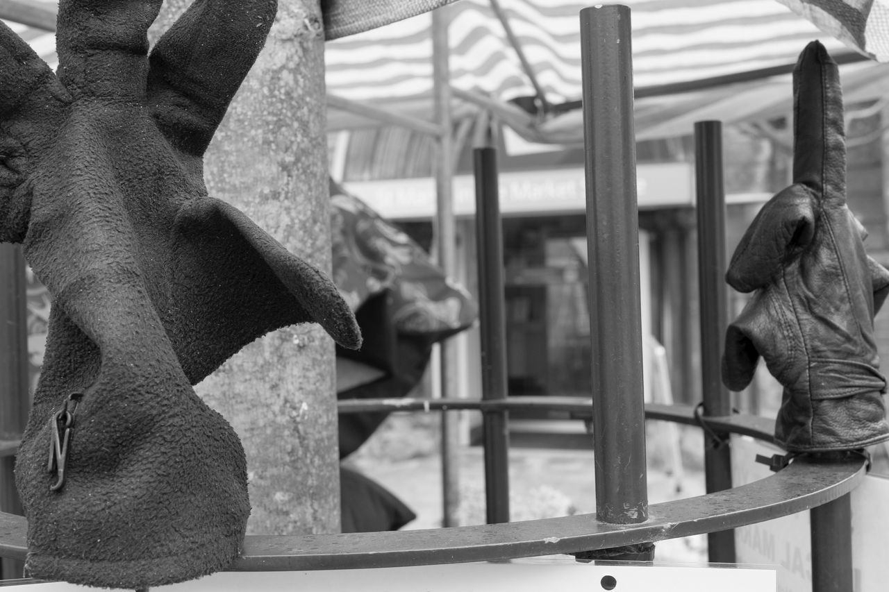 Gloves Lost Glove Lost And Found Lost Railing Fence Tree Glove B&w Leica Black And White B&w Street Photography Market Stall Lichfield
