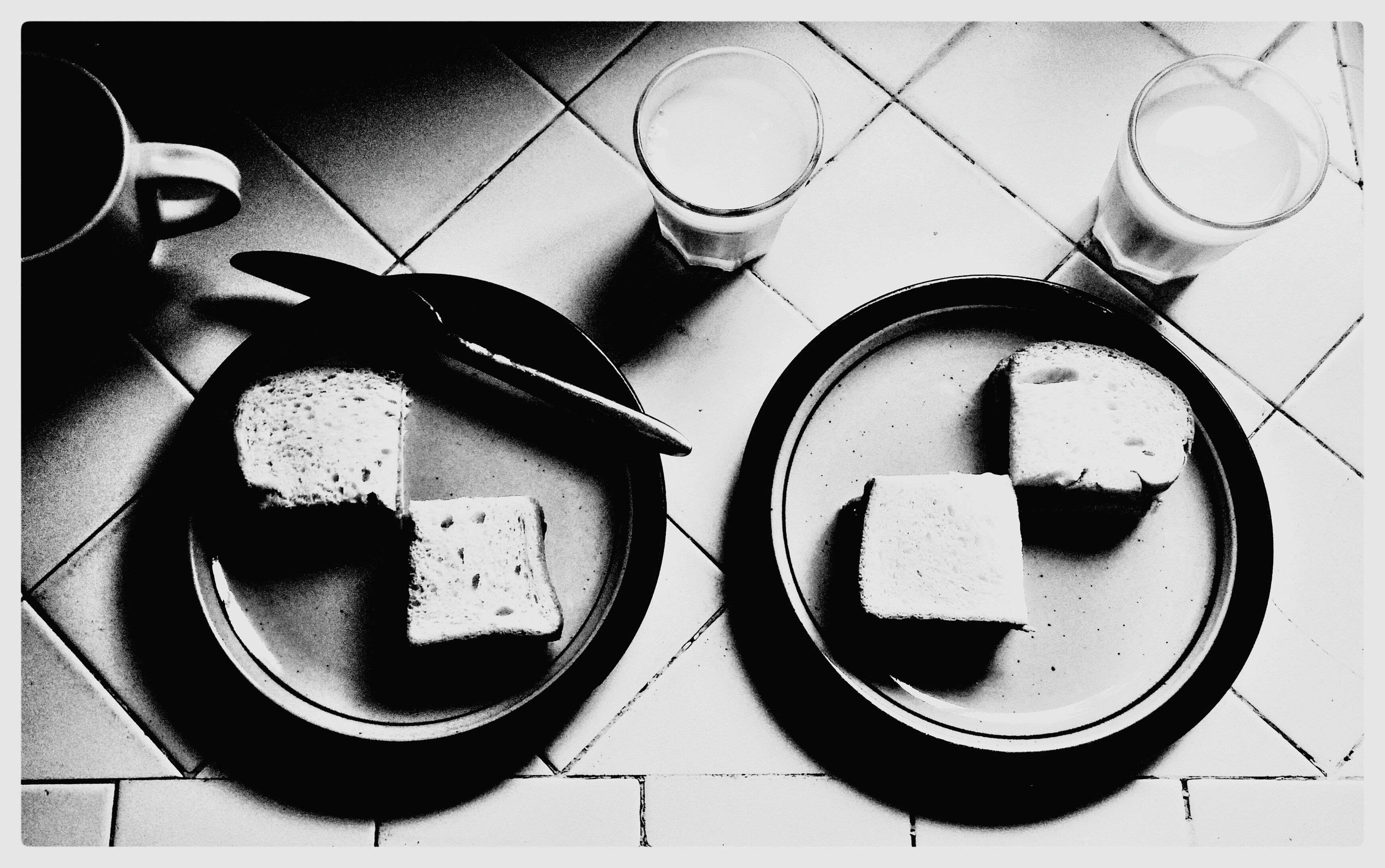 Blackandwhite Pbj Noir P9kLA Lunch