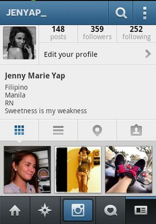 Guys follow me in Instagram @jenyap_ Check This Out That's Me FollowMeOnInstagram @jenyap_
