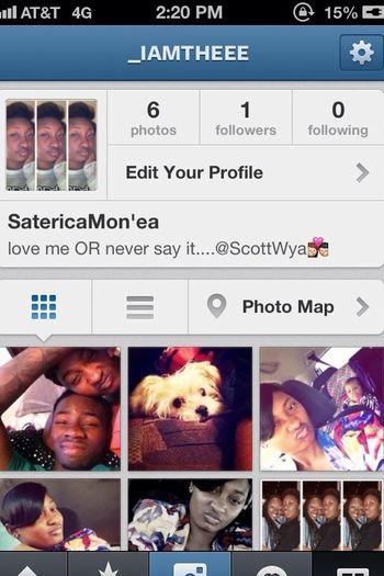 Follow Me On Dat Insta _iAMtheee