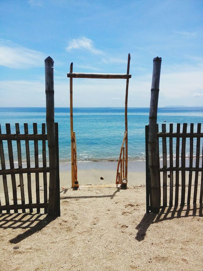"""""""ENTRANCE"""" Coastal Life Relaxing Sea Simple Set Up Blue Waters"""