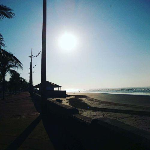 Amanhecer praia Mongaguá Praia Beach