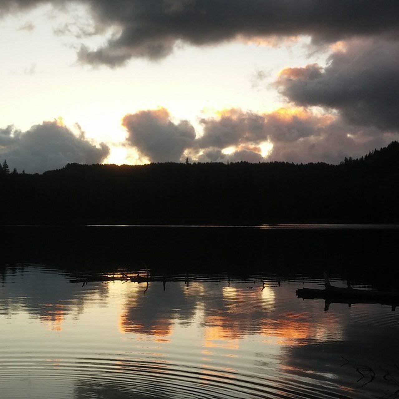 Drama in the sky. Devilslake  Bendoregon Landscape Nature