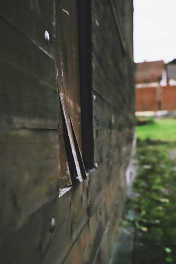 Building Exterior Building Panel Brown Outside Garden Wood Old House Slivered Splinter No People Window Close-up Architecture Indoors  Day