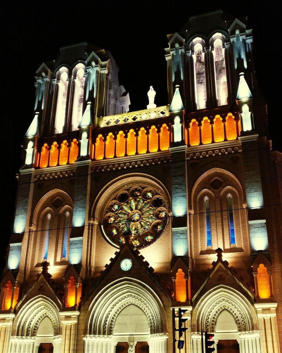 Nice / Nizza France🇫🇷 Buildings Night Church Night Lights