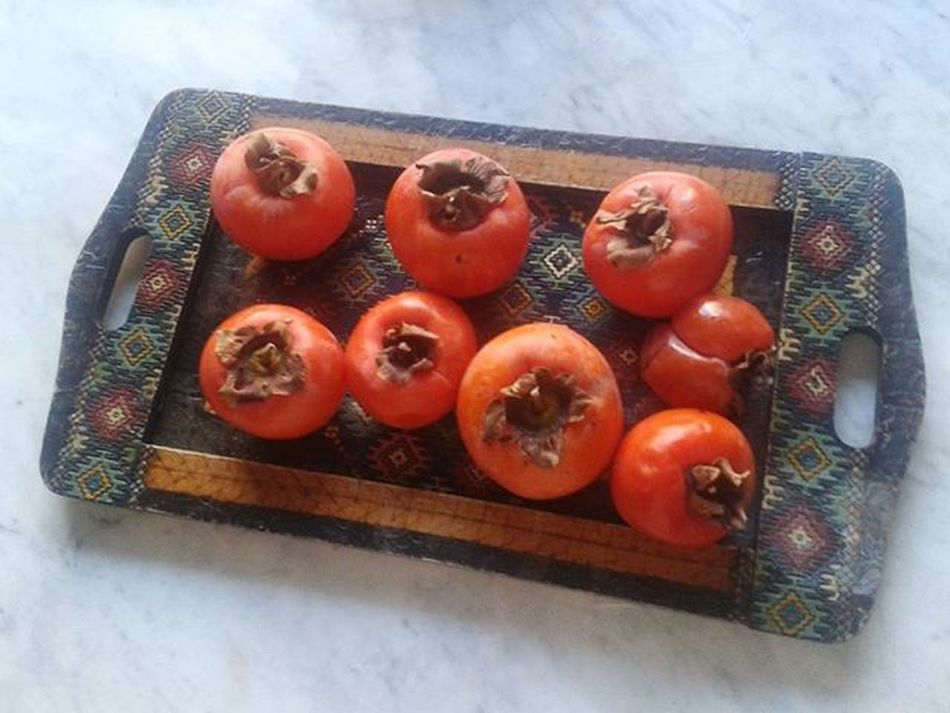 Mygarden Caco Cachi Frutta Fruits Orange Naturelovers Kitchen Cucina Igersmodena Igersemiliaromagna Igersitalia Ariadicasamia Ariasana