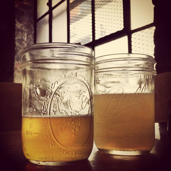 Mason Jar Mason Jars Beer Beers Beersnob Bar Drinks Drinks With Friends Two Is Better Than One IPhoneography Iphone6