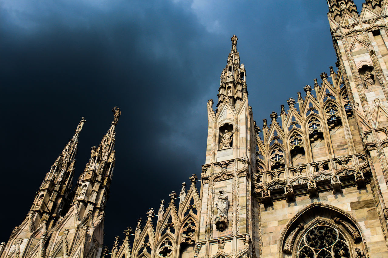 Gothic Cathedral in Milano Italia My Best Photo 2015