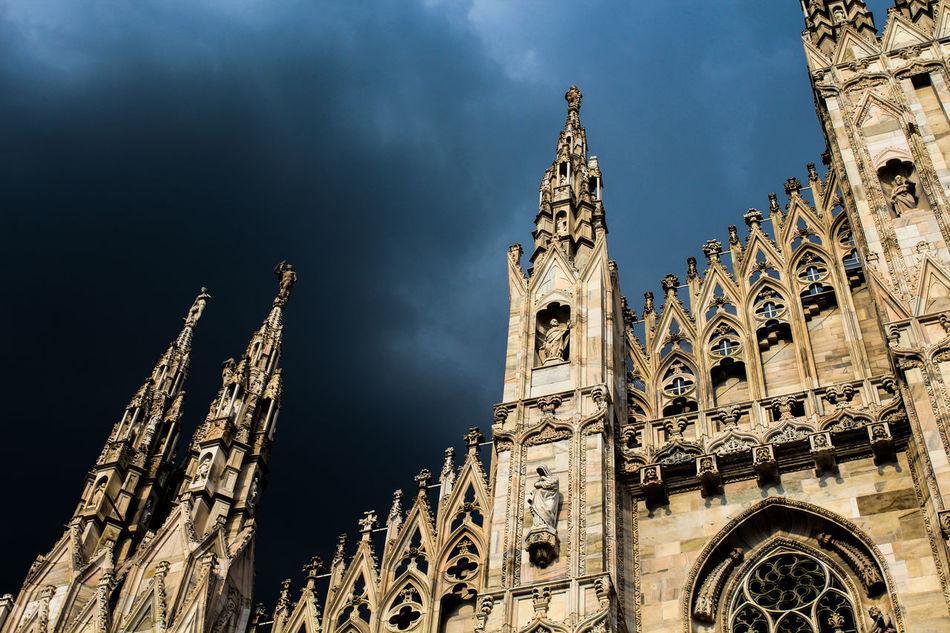 Beautiful stock photos of milan, Architecture, Building Exterior, Built Structure, Cloudy