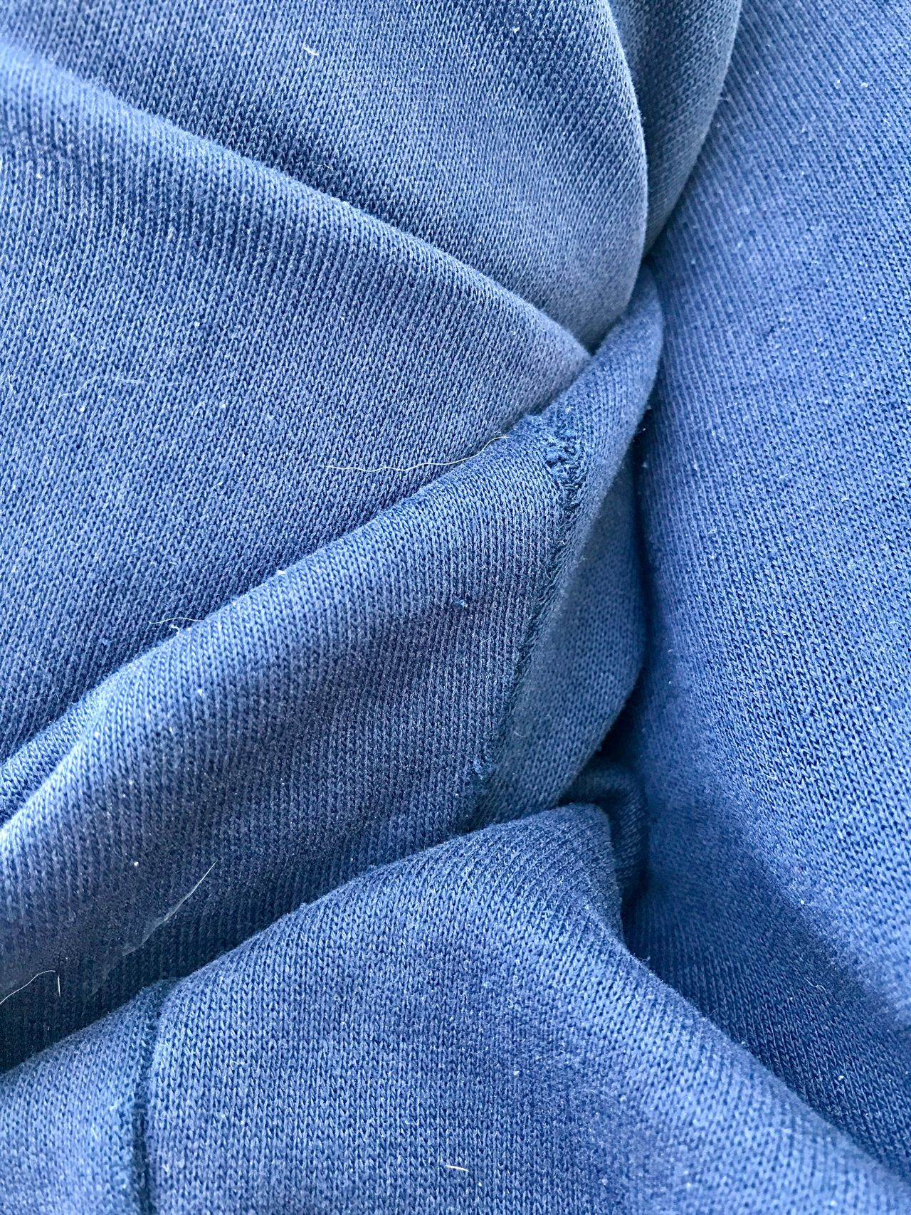 Textile Backgrounds Textured  Blue Full Frame Material Wool Gray Industry Close-up No People Indoors  Day