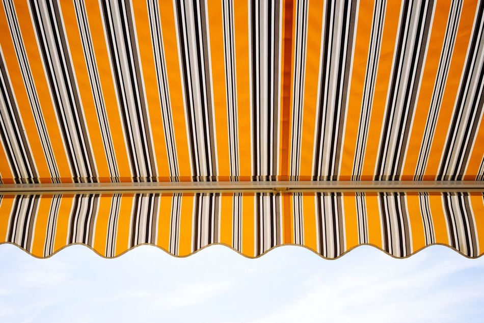 Beautiful stock photos of canvas, Awning, Canvas, Day, Low Angle View