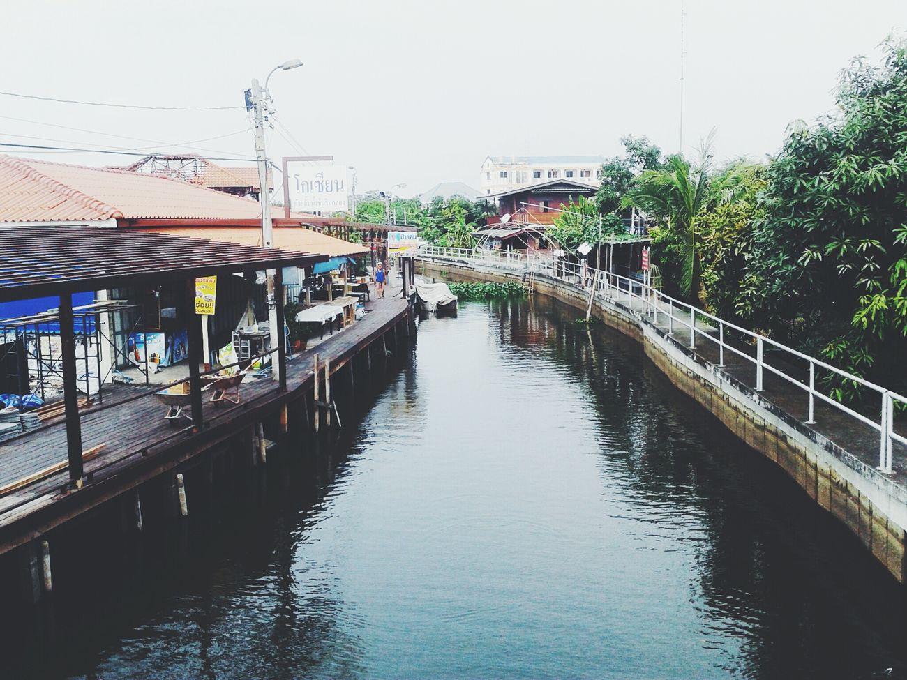 Thailand Bangkok Nature Canal Urban Thaimarket Oldmarket VSCO Bangpli Temple