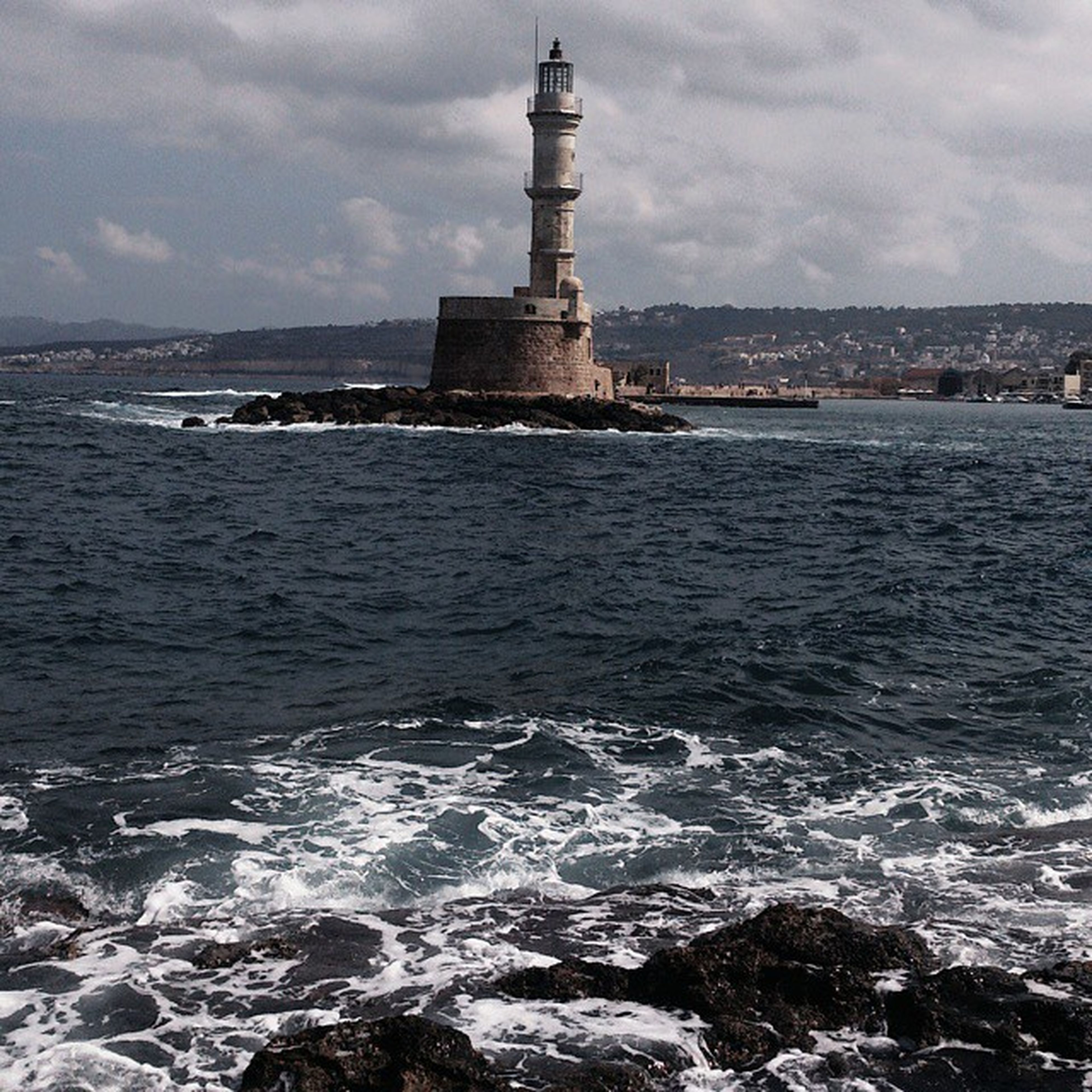 Crete Suchphotography Amazing Noriumiego lighthouse Mediterranean sea