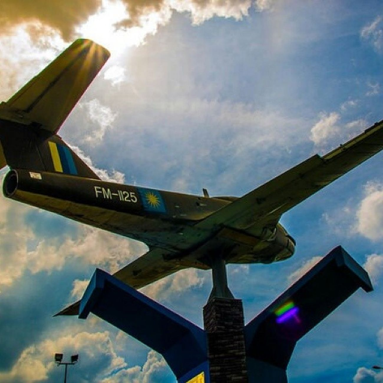 Airforce Monumen Planes Old Aircraft Museum Tudm Skyline Outdoor