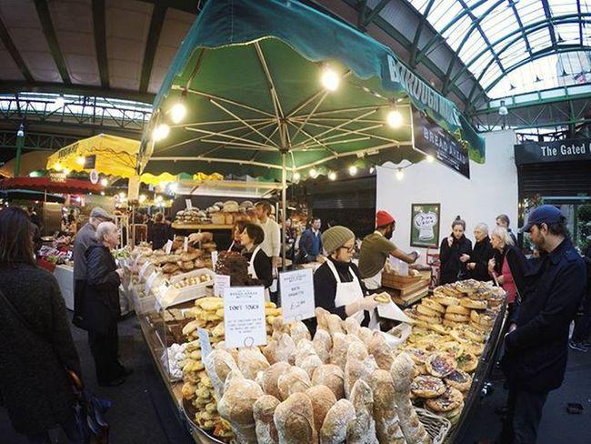 Fresh made bread 🍞 | Borough Market, London London Boroughmarket Artisan Travel Goprohero4
