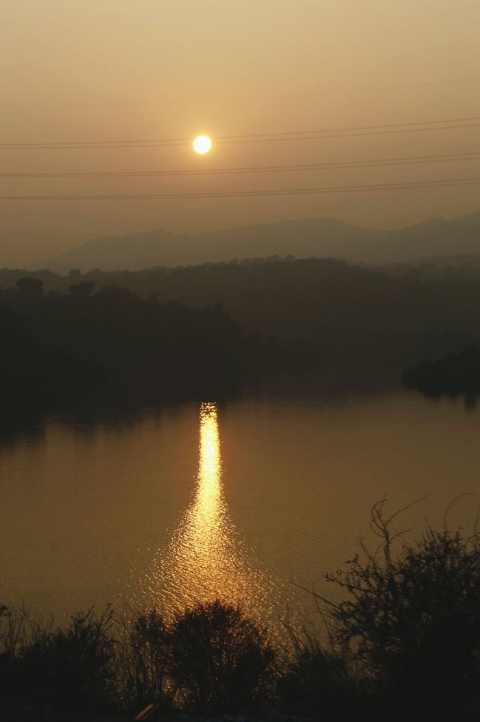 Nature Sunset Sky Outdoors Lake Sunset