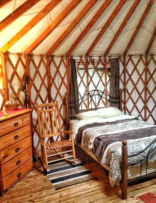 Interior Design Interior Style Bed Bedroom Round Tent Furniture Wooden Structure Furniture Design Wooden Wall Wood Beams Rugged Style Rugged Shapes And Design Furniture Details Natural Design Angles Angles And Lines Country Living Camping Fancy Living Space This Is The Life Structure Room Photography