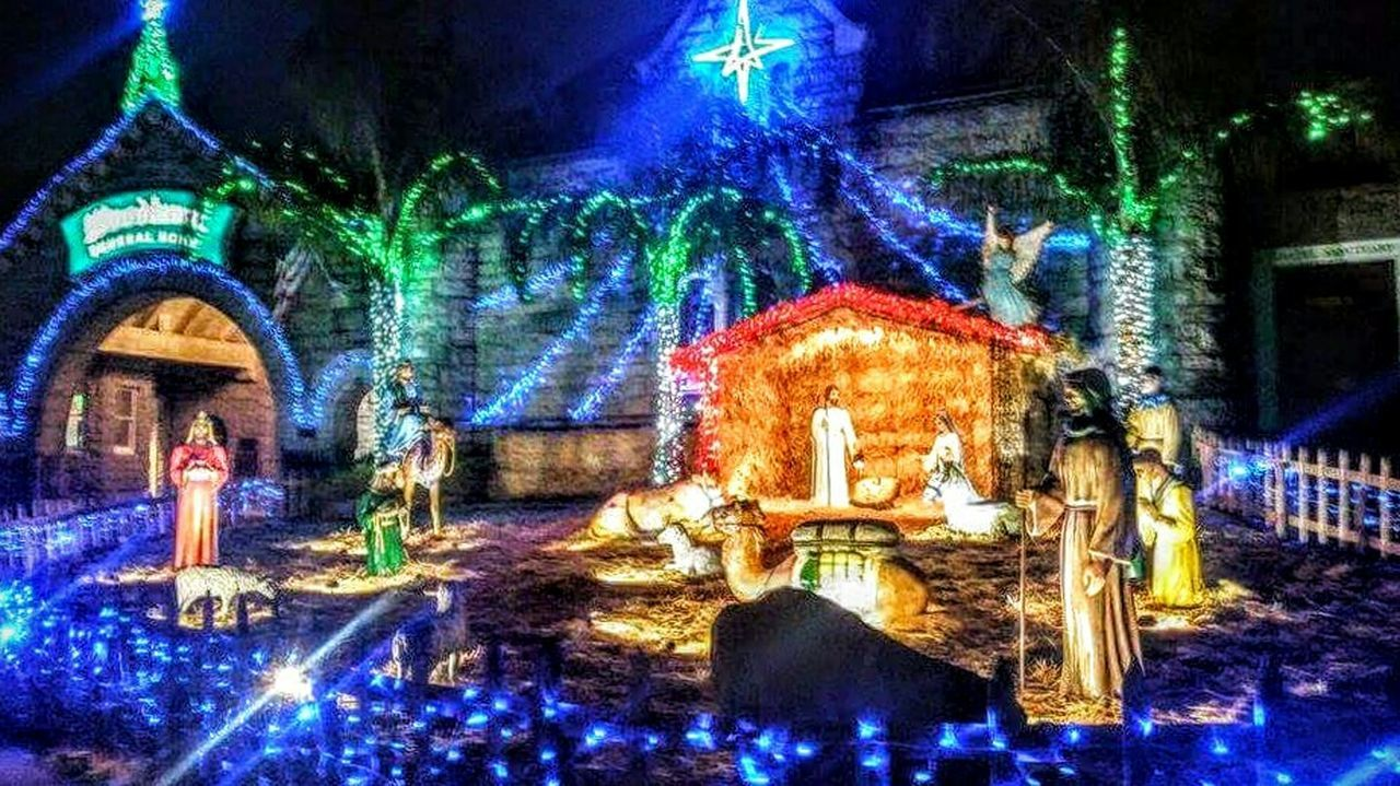 Christmas Around The World In North California USA