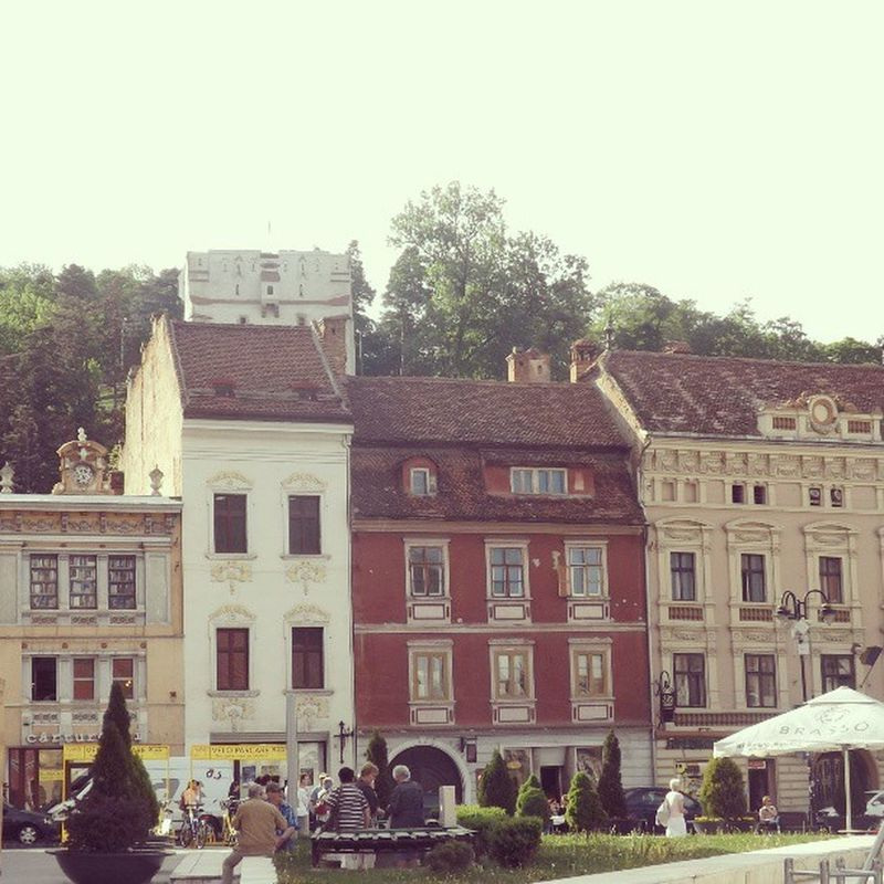 I have many photos of Brasov, this is one of the many. Brasov Brasso Kronstand Transilvania Romania Mytriptoromania Buildings Coloures Houses Holiday Summer Instaplaces Instalove Europe Est Magyar Hungary City Best  Beatiful