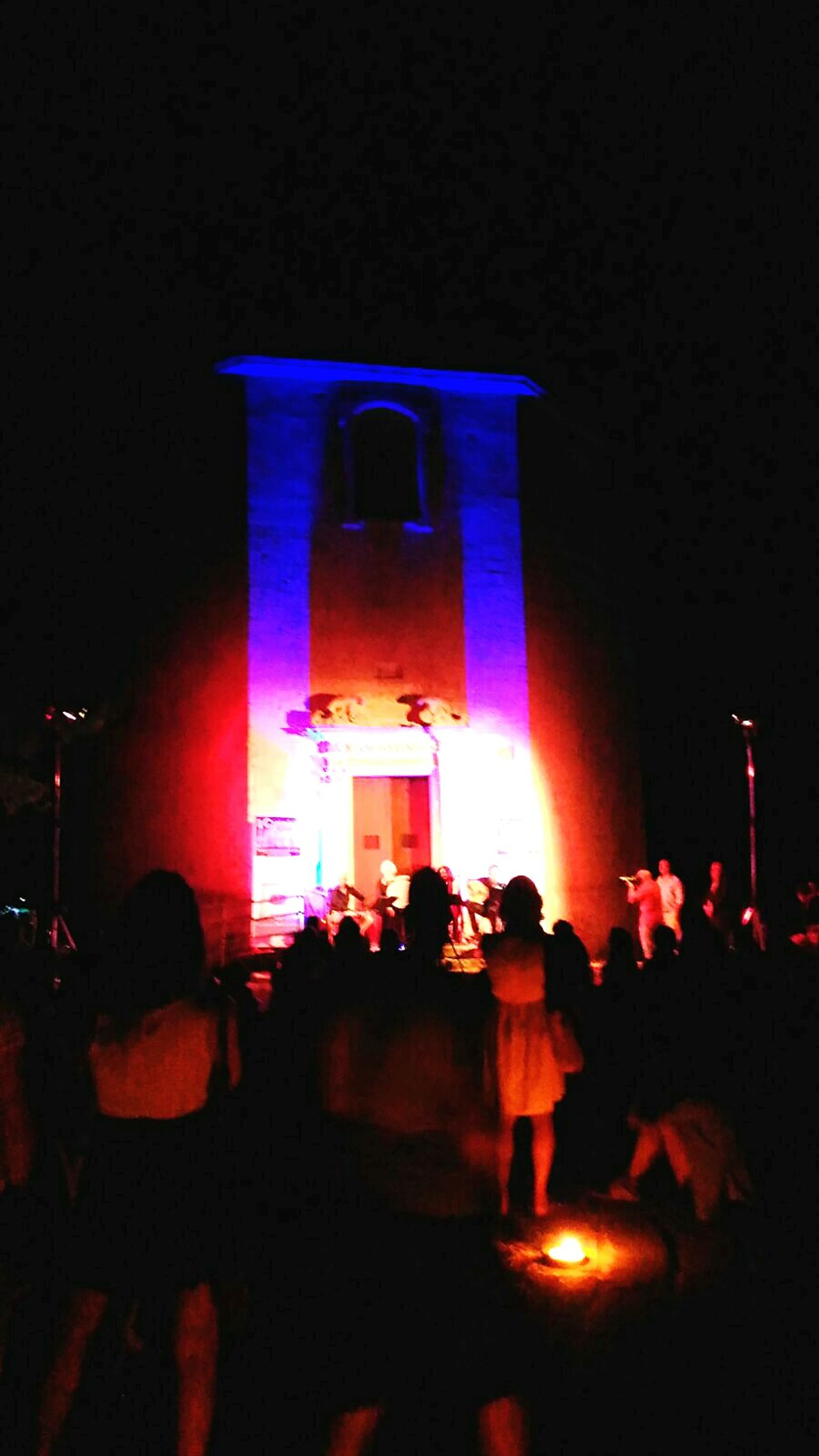 Salento Chiesa Dei Diavoli Tricase Summer's Holidays Night Musician