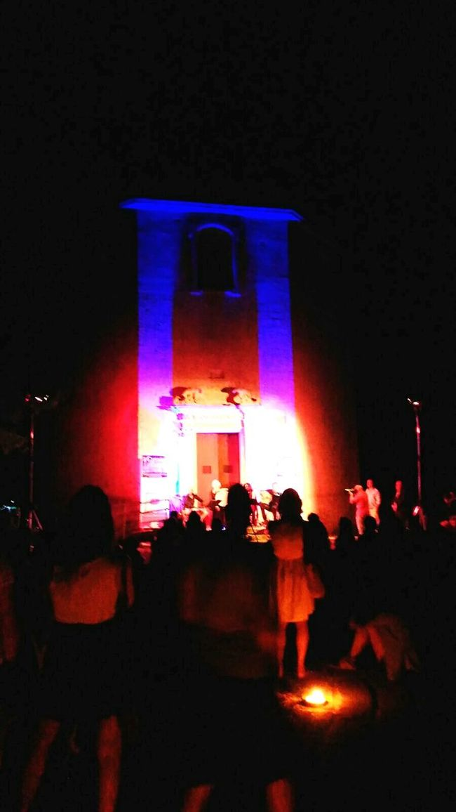 Salento Chiesa Dei Diavoli Tricase Summer's Holidays Night Musician