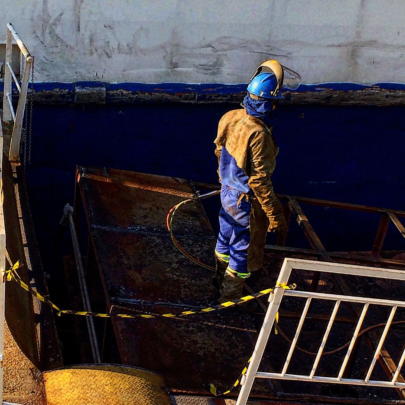 Worker Ferry Ferry Views SebastiaoSalgado feelings :)